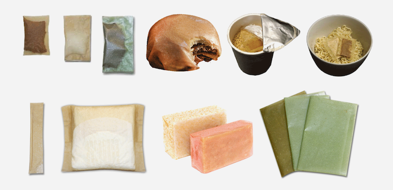 A selection of Evoware's innovative seaweed-based products. | Image Courtesy: Evoware